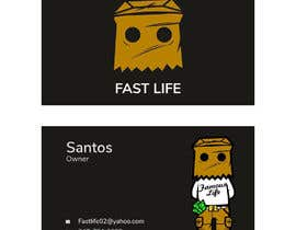 #150 untuk Fast life business cards oleh ujjwaldhungel19