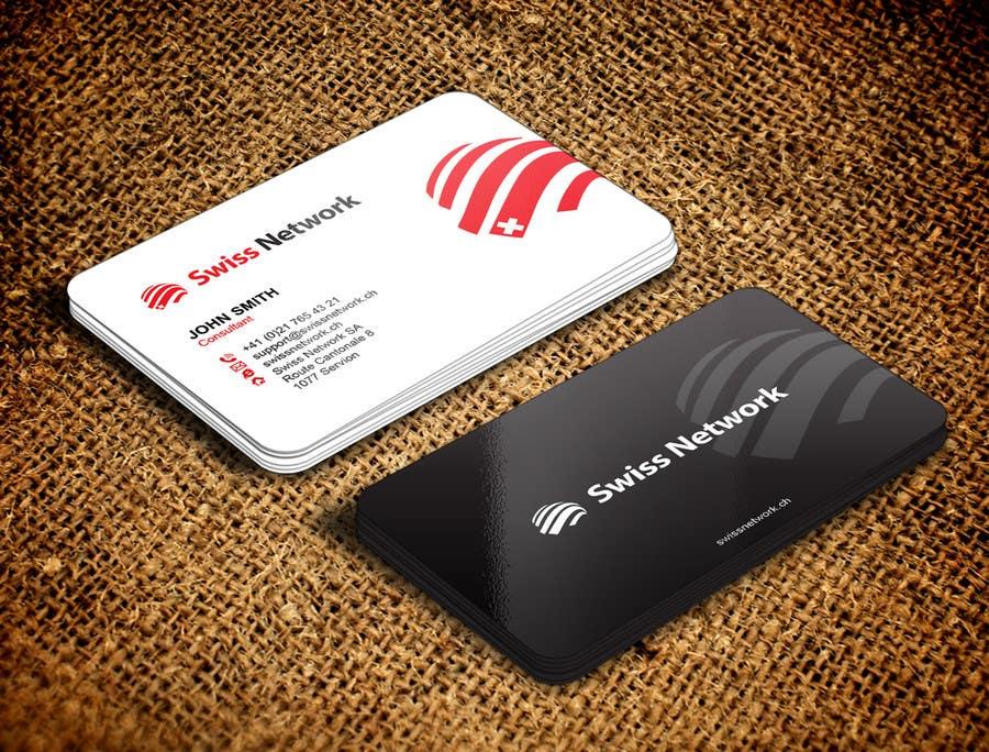 Kilpailutyö #118 kilpailussa Business card 2-sided