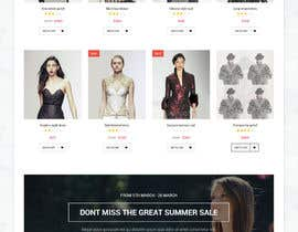 #12 for Design a trendy Ecommerce Store Home Page Template by VtSaha