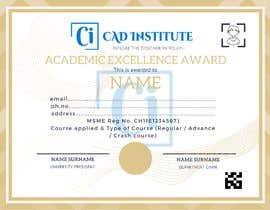 #44 for Design 2 Certificates & 1 Marksheet format (for both Digital Certification & Hard Copy) af mahatobasant111