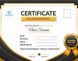 #22 for Design 2 Certificates & 1 Marksheet format (for both Digital Certification & Hard Copy) af rumonhossain0062