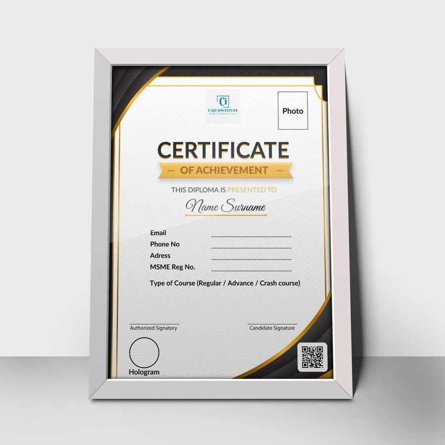 Konkurrenceindlæg #                                        24                                      for                                         Design 2 Certificates & 1 Marksheet format (for both Digital Certification & Hard Copy)