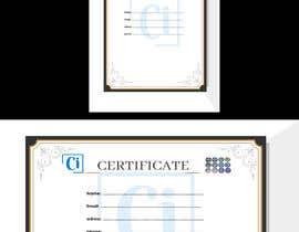 #14 for Design 2 Certificates & 1 Marksheet format (for both Digital Certification & Hard Copy) af aichasalem10
