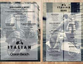 leomacatangay9 tarafından Create an attractive menu design for Italian Cafe (Ocean Beach Hotel and Spa için no 39