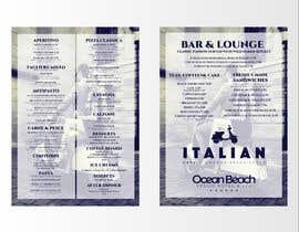 nowshinurmi76 tarafından Create an attractive menu design for Italian Cafe (Ocean Beach Hotel and Spa için no 18
