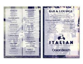 nowshinurmi76 tarafından Create an attractive menu design for Italian Cafe (Ocean Beach Hotel and Spa için no 21