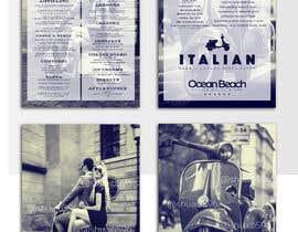 nowshinurmi76 tarafından Create an attractive menu design for Italian Cafe (Ocean Beach Hotel and Spa için no 38