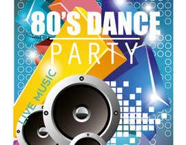 #483 for 80s  Dance Party invitation/flyer by shrimon1999