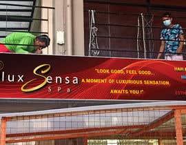 #147 untuk Design an store overhead signage for a Salon and Spa oleh ahsanhabib5477