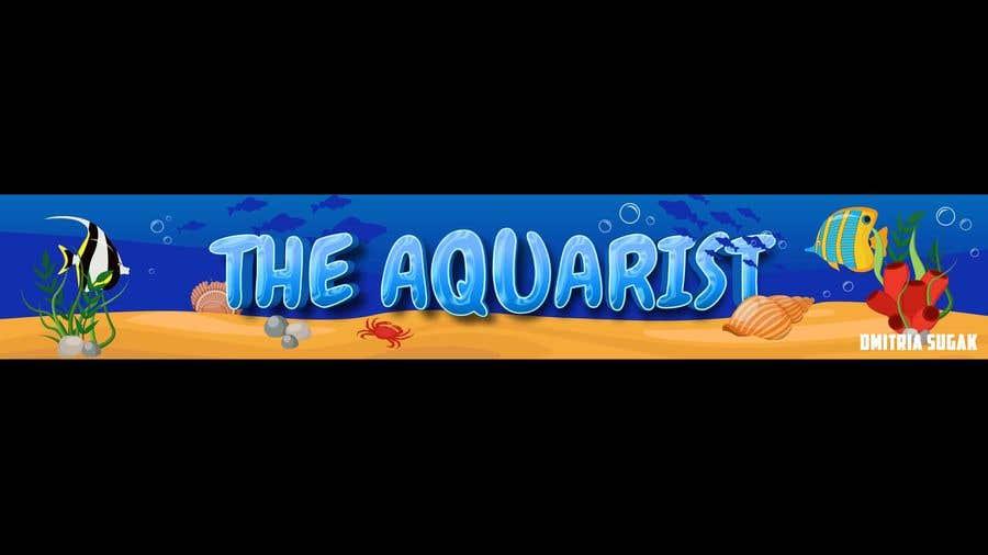 Penyertaan Peraduan #                                        93                                      untuk                                         The Aquarist Logo & Banner