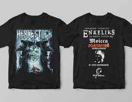 tanvirmoon101 tarafından Create a Design for rock / metal festival t shirt için no 4