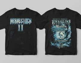 tanvirmoon101 tarafından Create a Design for rock / metal festival t shirt için no 12