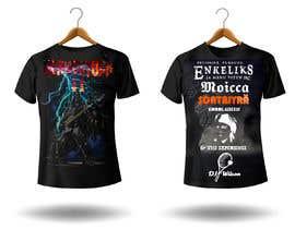 valencast0 tarafından Create a Design for rock / metal festival t shirt için no 27
