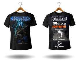 valencast0 tarafından Create a Design for rock / metal festival t shirt için no 32