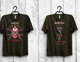 NilanjonaBhowmik tarafından Create a Design for rock / metal festival t shirt için no 29