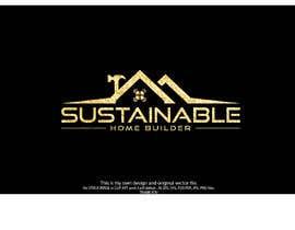 #624 untuk Sustainable Home Builder LOGO oleh mashudurrelative