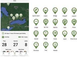 #14 untuk Design map markers for the following features oleh zobimemon