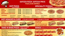 Graphic Design Bài thi #9 cho Design an Advertisement for MENU for PIZZA