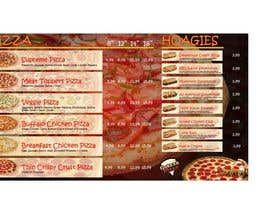 #5 cho Design an Advertisement for MENU for PIZZA bởi fieldy211