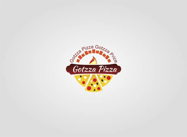 Konkurrenceindlæg #                                        20                                      for                                         Design a Logo for Gotzza Pizza - Modification