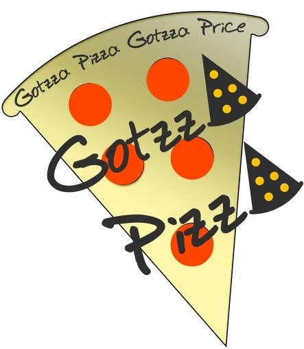 Contest Entry #21 for Design a Logo for Gotzza Pizza - Modification