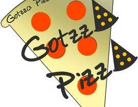 #21 untuk Design a Logo for Gotzza Pizza - Modification oleh DenisStelistu