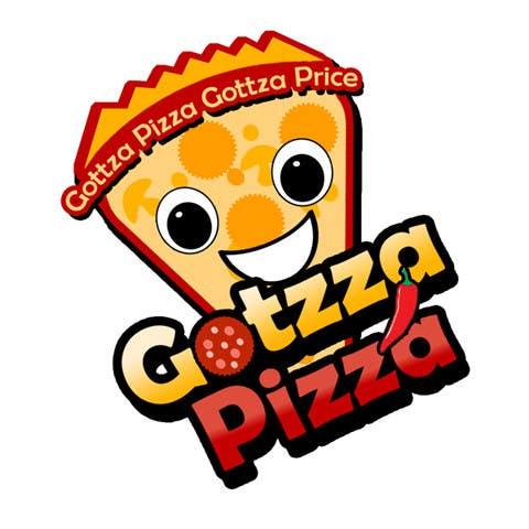 Konkurrenceindlæg #                                        22                                      for                                         Design a Logo for Gotzza Pizza - Modification