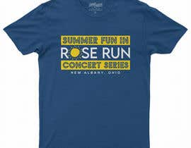 #159 for Summer Fun Rose Run Concert Series Logo for Tee shirts by MariaAkter17th