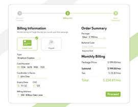 #6 untuk Mockup 'Billing Information' Page(s) oleh Azim347