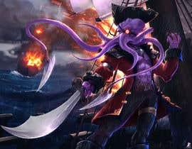 #27 para Villain Concept (Fantasy) Illithid Pirate por ccaspercrow