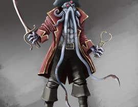 #29 para Villain Concept (Fantasy) Illithid Pirate por kdradkov