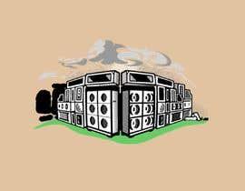 #43 cho Stacked Guitar Amp Illustration of Stonehenge bởi websitemanager