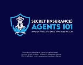 "#52 for New Logo for, ""Secret (Insurance) Agents 101: Master Marketing Skills That Build Wealth"" by serviceskba"