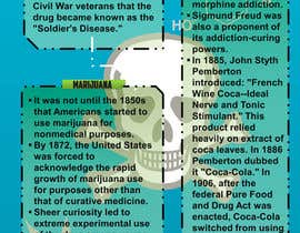 nº 13 pour I need 2 infographic designs about drug use in the US par RetroType