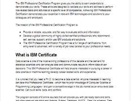 #43 untuk Present how an IBM Certification would accelerate your career or business oleh usmankhan125