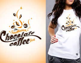 #50 untuk Logo Design for The Southwest Chocolate and Coffee Fest oleh twindesigner