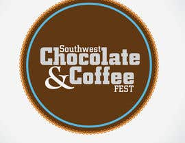 #220 dla Logo Design for The Southwest Chocolate and Coffee Fest przez crOix89