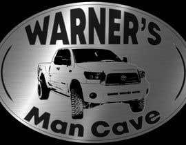 #36 untuk Man cave sign design oleh mendozaarispe