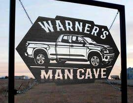 #68 untuk Man cave sign design oleh nyarinafkah