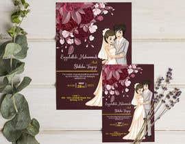 #62 untuk wedding ceremony invitation card oleh joyhalderjoy