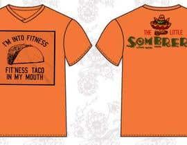 #125 para T-Shirt Design Little Sombero por Rithik199