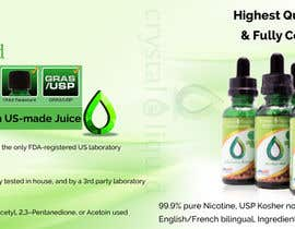 #4 for Design a Banner for Crystal E Liquid - PG/VG Line by sweetys1