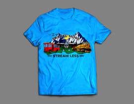 #2 для Travel More Stream Less tshirt от RenggaKW