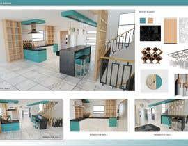 #27 untuk 3D Rendering of a Kitchen Design oleh yusaldy