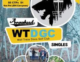 #43 para Event flyer - disc golf outing por nikgraphics91