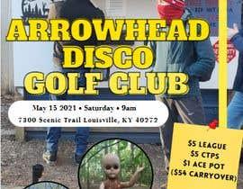#56 para Event flyer - disc golf outing por sabrin4