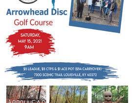 #59 para Event flyer - disc golf outing por kaushikdaskd2021