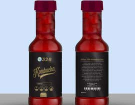 #52 for Kombucha Bottle Label by rabiulsheikh470