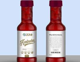 #53 for Kombucha Bottle Label by rabiulsheikh470