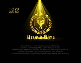 #44 for Utopia Game Home Page and Logo by immuzahid5